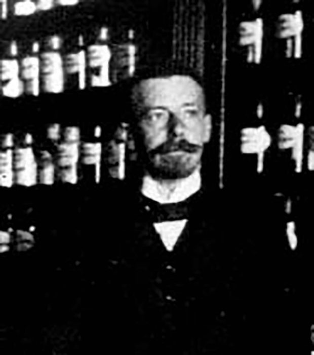 Apotheker Rudolf Wehrkamp aus Gehrde (1872 - 1959)