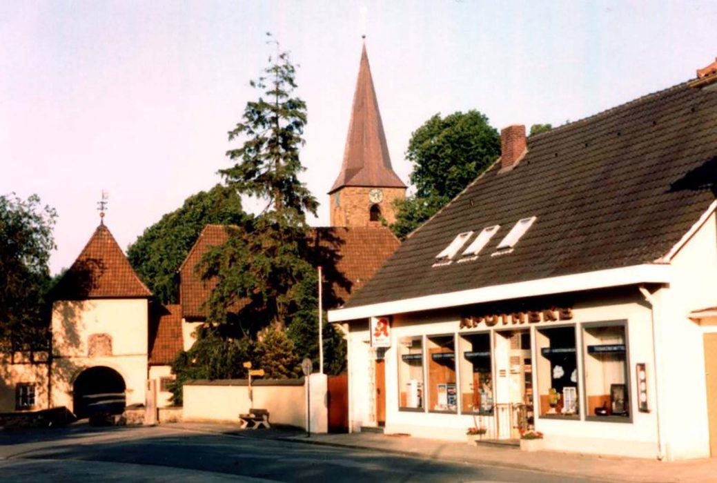Der Bersenbrücker Marktplatz 1985